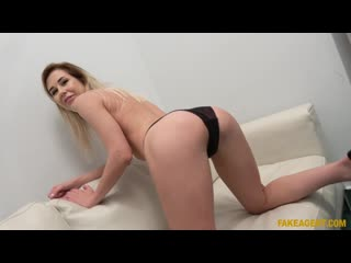 Madison McQueen - Office fuck for cock hungry Russian - Porno, Casting All Sex Hardcore Blowjob Blonde Facial Cumshot