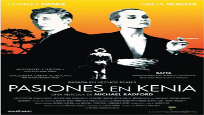 Cine clásico.- Pasiones en Kenia.- (1987).Español