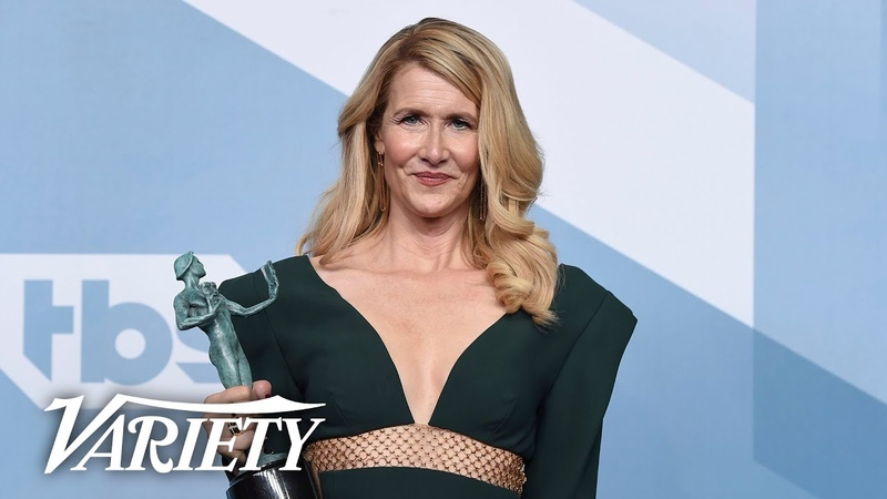Laura Dern Wins SAG Award for 'Marriage Story' Full Backstage Interview