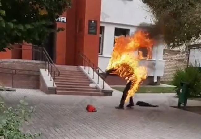 Самосожжение в Смолевичах