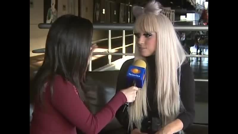Интервью для Televisa (04.12.2008)