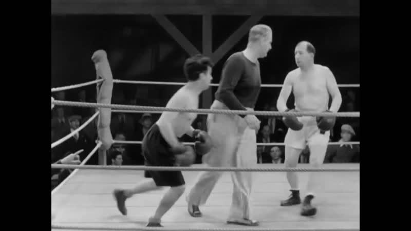 Charlie Chaplin Boxing Scene City Lights 1931