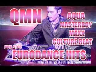 Aqua , Masterboy , Real Mccoy , La Bouche , Vengaboys ,Euro Dance Megamix