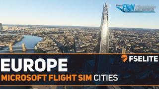 Microsoft Flight Simulator - European Cities