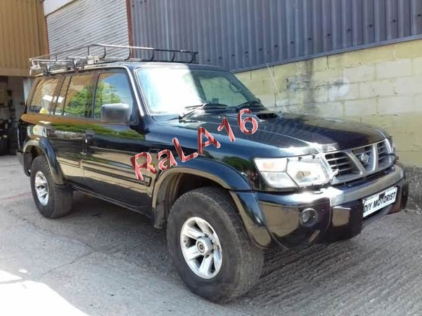 Авторазбор Nissan Patrol Y61 2002г 3 0TD МКПП ZD30 цвет KH3 BLACK пробег 206т