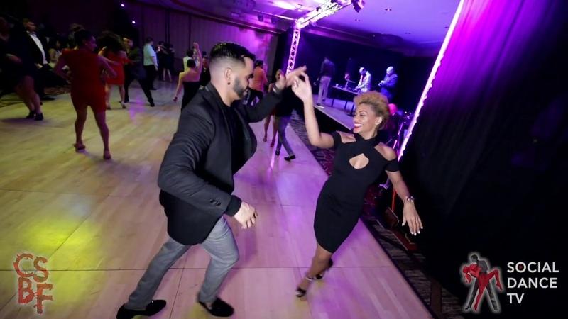 Ernesto Bulnes Delia Madera - Salsa social dancing | Chicago Salsa Bachata Festival 2019