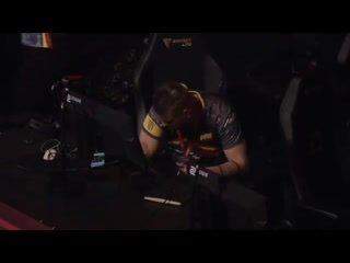 Zeus after loss vs mousesports
