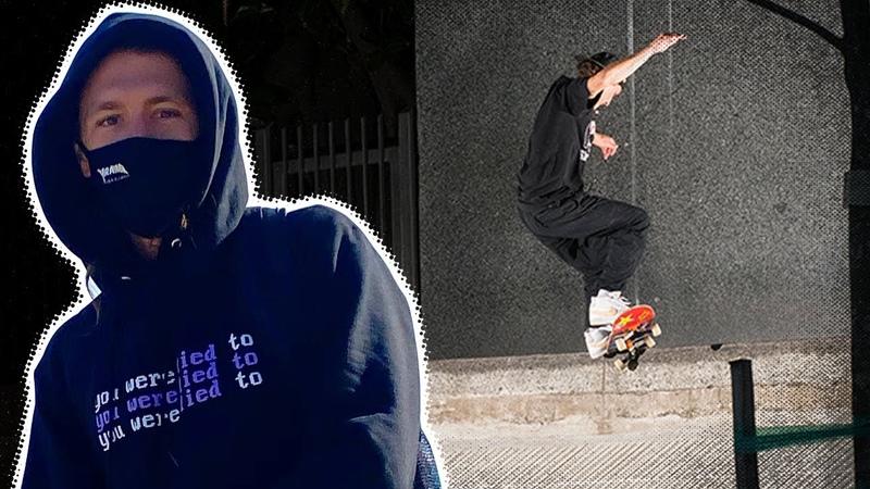 Clips Crust Quads Jereme Knibbs in Argentina RAW UNCUT Santa Cruz Skateboards