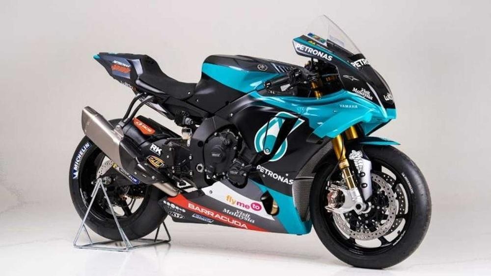 Мотоцикл Yamaha Petronas SRT YZF-R1 Replica