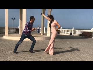 Девушка Танцует Красиво Чеченская  Песня 2021 Лезгинка С Красавицей Дагестана ALISHKA ELVIN AZARINA