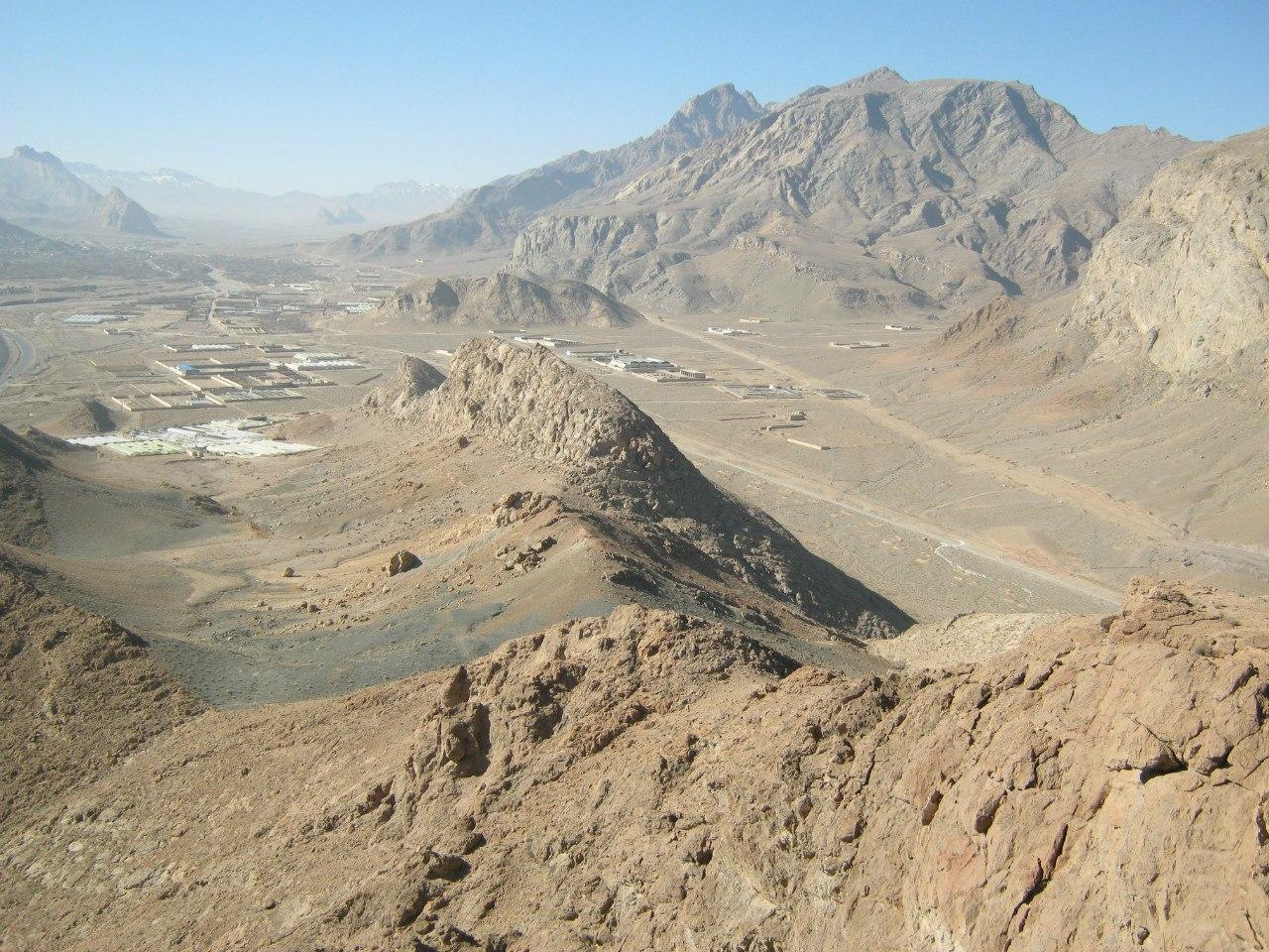 Снимок из центральной части Ирана, очень жарко