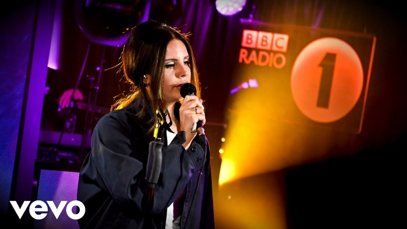 Lana Del Rey Doin' Time Sublime cover in the Live Lounge