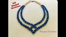 Party Wear Beaded Necklace DIY Beaded Necklace How to make Beaded Necklace