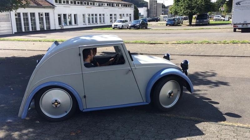 Test driving 1933 Standard Superior by Josef Ganz