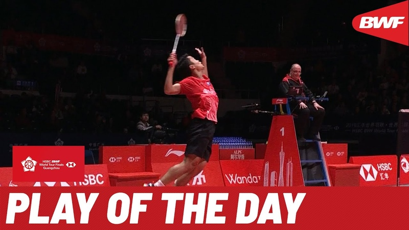Play of the Day | HSBC BWF World Tour Finals 2019 | Group Day 1