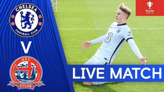 Chelsea v AFC Fylde   FA Youth Cup   Round 4   Live Match