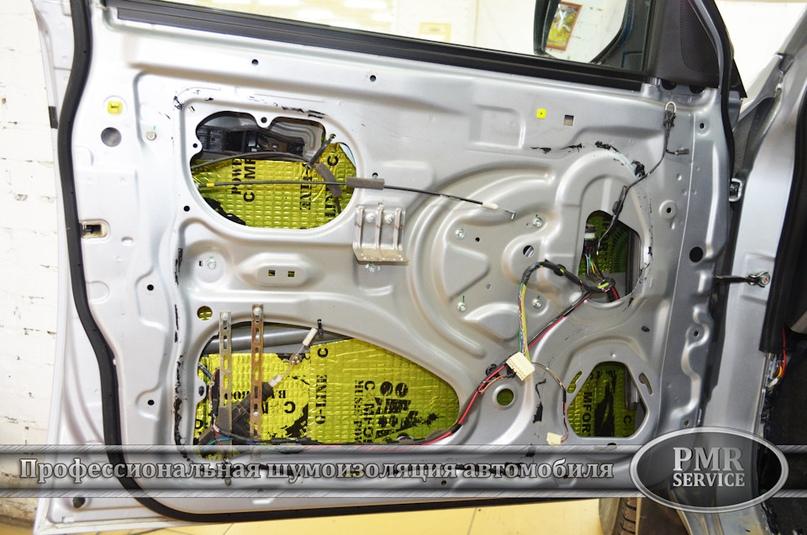 Шумоизоляция Mitsubishi L200, изображение №12