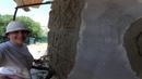 как оформить угол домадекоративный камень из арт бетона.. обзорный фильм..
