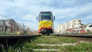 Евпатория   единственный город в Крыму, где есть трамваи