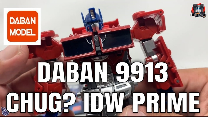 Daban 9913 Voyager IDW Optimus Prime Unboxing Review Larkin's Lair