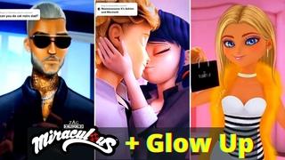 Miraculous Ladybug + GLOW UP TikTok Compilation