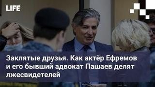 Заклятые друзья. Как актёр Ефремов и его бывший адвокат Пашаев делят лжесвидетелей