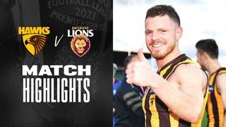 Hawthorn v Brisbane Lions Highlights   Round 20, 2021   AFL