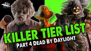 Killer Tier List Dead By Daylight 2021 part 3   Cannibal, Nightmare, Pig, Clown