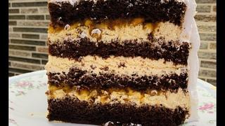 Торт СНИКЕРС 🍰 Бюджетный, НО ОЧЕНЬ ВКУСНЫЙ ТОРТ 😍 Красивый торт!