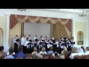 Отчетный концерт. 1 отделение. Духовные песнопения для однородного женского хора 2018 год.