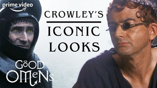 David Tennant's Iconic Crowley Looks | Good Omens | Prime Video