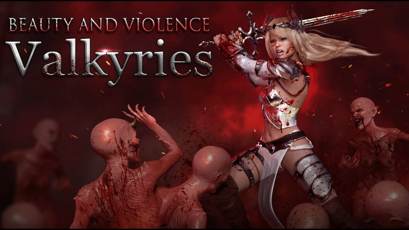 Beauty And Violence Valkyries Trailer (WIP)