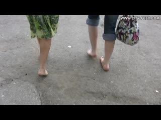 Sexy city feet/ Секси ножки в городе