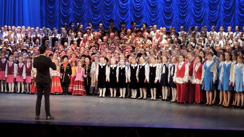 Дорогою добра Крещенский концерт сводного детского хора Театр Драмы Краснодар 19 января 2017 г