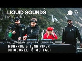 Monrroe x Tonn Piper x Chiccoreli x MC Tali LIVE @ Milford Sounds, NZ