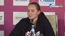 Елена Рыбакина о поражении в финале St Petersburg Ladies Trophy Бертенс