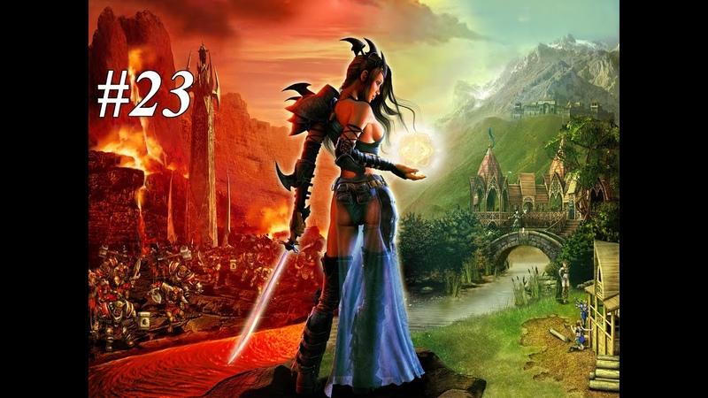 К вершине стены богов SpellForce The Order of Dawn 23