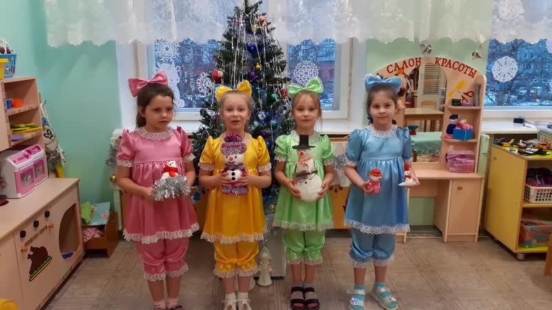 Команды организаций Участники №66 МБДОУ №89 Умка группа Ёжик Дружные снеговики