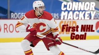 Connor Mackey #3 (Calgary Flames) first NHL goal 19/05/2021