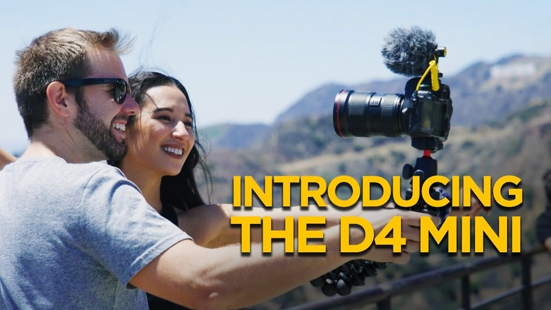 Introducing the D4 Mini Ultra Lightweight Mic for Mobile DSLR Filmmakers