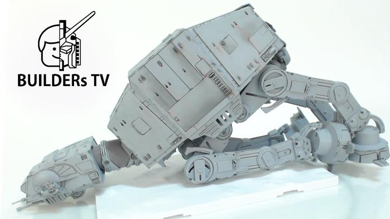 BANDAI STARWARS AT-AT Fast Build Up (반다이 스타워즈 AT-AT 빠른 조립 리뷰)