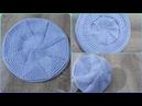 Tığ İşi Yıldız Şapka Yapımı Örgü Şapka Bere Modelleri 75
