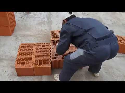 90% допускают эту ошибку при строительстве домов из керамических блоков, правильная кладка углов