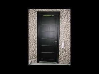 Двери межкомнатные из сосны презентация в интерьере (под заказ в Харькове)