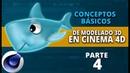 Conceptos básicos de modelado en Cinema4D ::: Parte 4