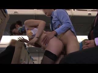 Kuraki Shiori, Rinne Toka, Fukada Eimi, Tojo Ao - Uniform, Underwear, Nude - Straddling Pussy Airlines 12  [SDDE-613]