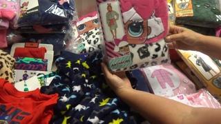 Детские пижамы сток.