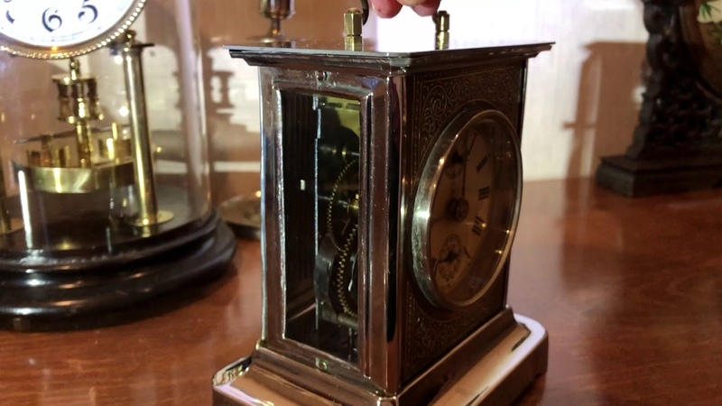 Old Carriage Clock Junghans Joker 1895-1896...