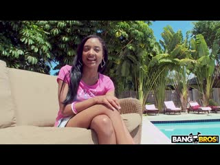 Sierra Sanchez - Insatiable Ebony [All Sex, Hardcore, Blowjob, Teens]