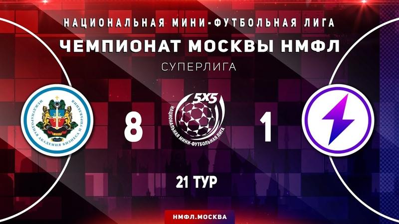 Обзор матча НМФЛ 2019 20 Суперлига МФК МАБиУ МФК Искра